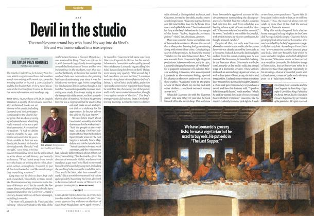 Article Preview: Devil in the studio, February 2013 | Maclean's