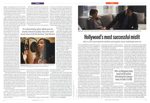 Article Preview: Hollywood's most successful misfit, February 2013 | Maclean's