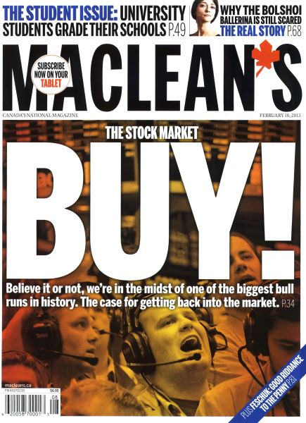 Issue: - February 2013 | Maclean's
