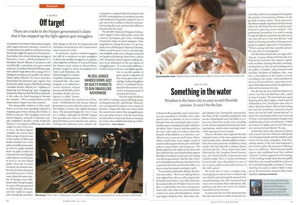 Article Preview: Off target, February 2013 | Maclean's