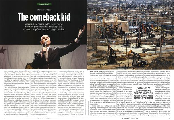 Article Preview: The comeback kid, February 2013 | Maclean's