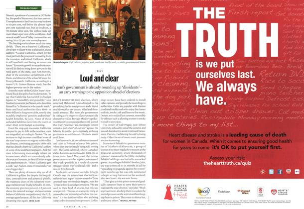 Article Preview: Loud and clear, February 2013 | Maclean's