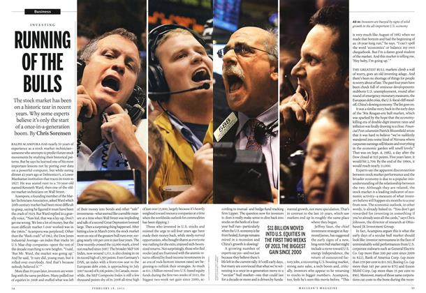 Article Preview: RUNNING OF THE BULLS, February 2013 | Maclean's