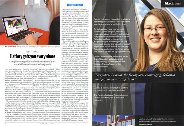 Article Preview: Flattery gets you everywhere, February 2013 | Maclean's
