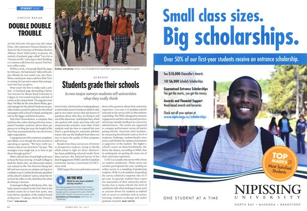 Article Preview: Students grade their schools, February 2013 | Maclean's