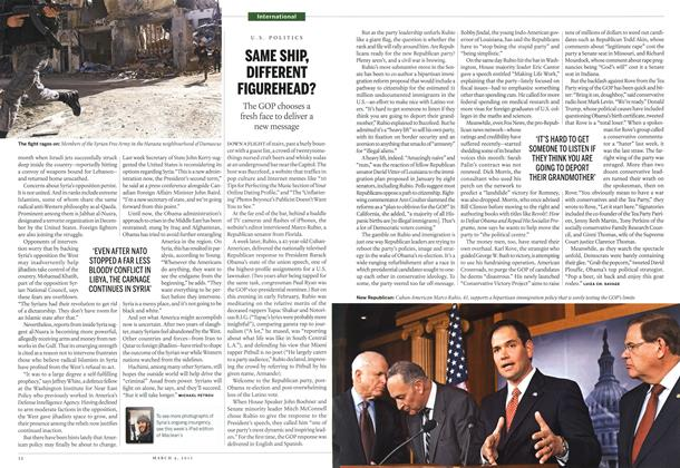 Article Preview: SAME SHIP, DIFFERENT FIGUREHEAD?, March 2013 | Maclean's