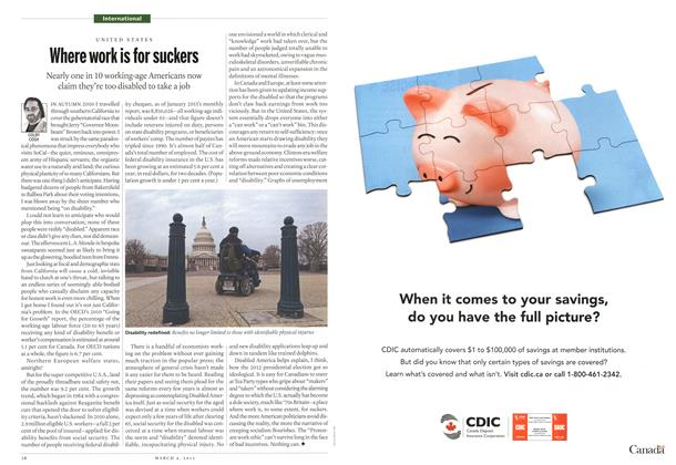 Article Preview: Where work is for suckers, March 2013 | Maclean's