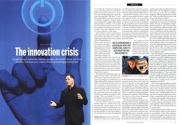 Article Preview: The innovation crisis, March 2013 | Maclean's