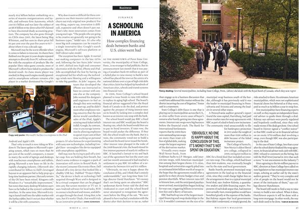 Article Preview: A SCHOOLING IN AMERICA, March 2013 | Maclean's