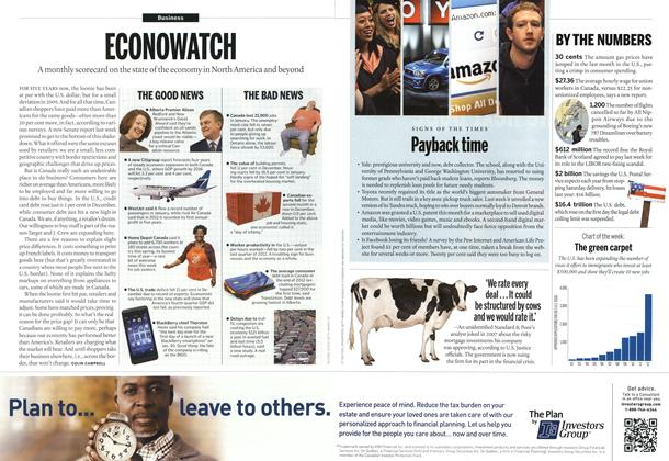 Article Preview: ECONOWATCH, March 2013 | Maclean's