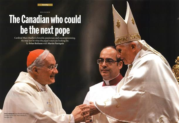 Article Preview: The Canadian who could be the next pope, March 2013 | Maclean's