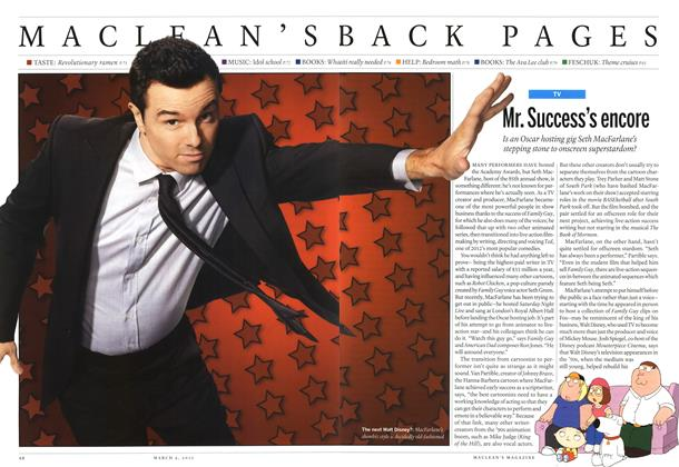 Article Preview: Mr. Success's encore, March 2013 | Maclean's