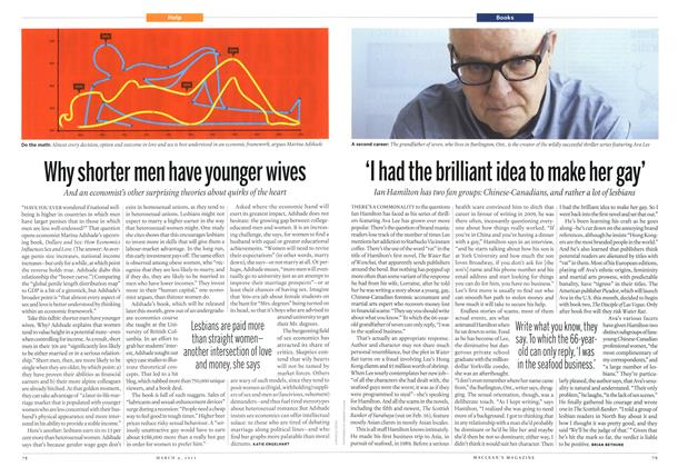 Article Preview: 'I had the brilliant idea to make her gay', March 2013 | Maclean's