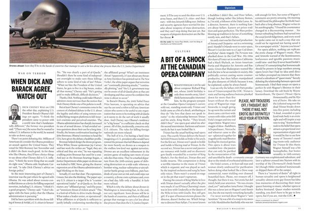 Article Preview: WHEN DICK AND BARACK AGREE, WATCH OUT, March 2013 | Maclean's
