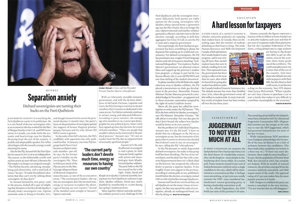 Article Preview: Separation anxiety, March 2013 | Maclean's