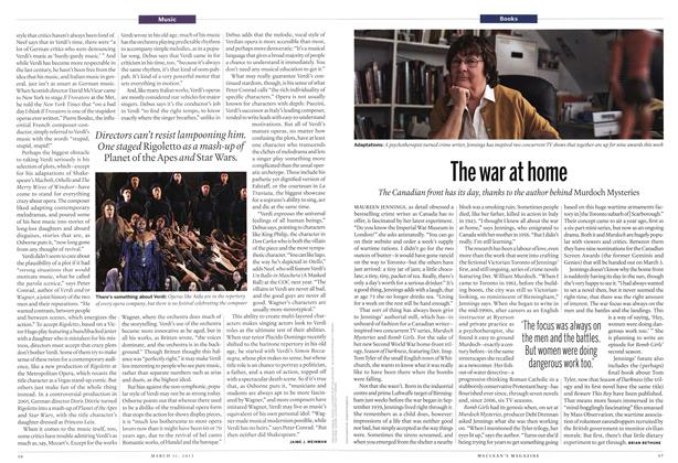 Article Preview: The war at home, March 2013 | Maclean's