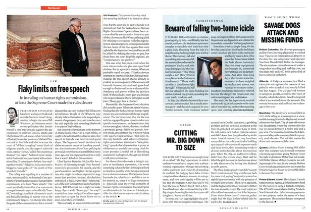 Article Preview: CUTTING MR. BIG DOWN TO SIZE, March 2013 | Maclean's