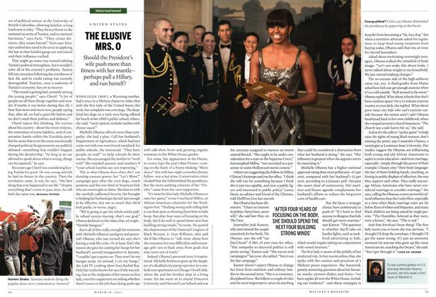 Article Preview: THE ELUSIVE MRS.O, March 2013 | Maclean's