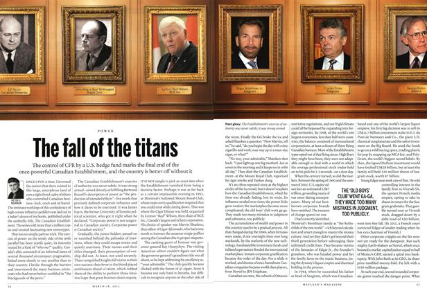 Article Preview: The fall of the titans, March 2013 | Maclean's