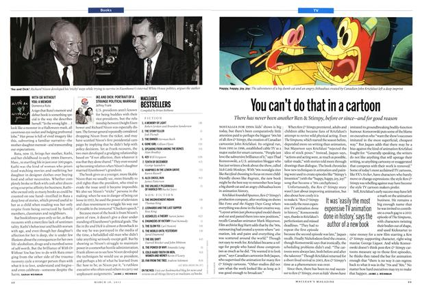 Article Preview: IKE AND DICK: PORTRAIT OF A STRANGE POLITICAL MARRIAGE, March 2013 | Maclean's