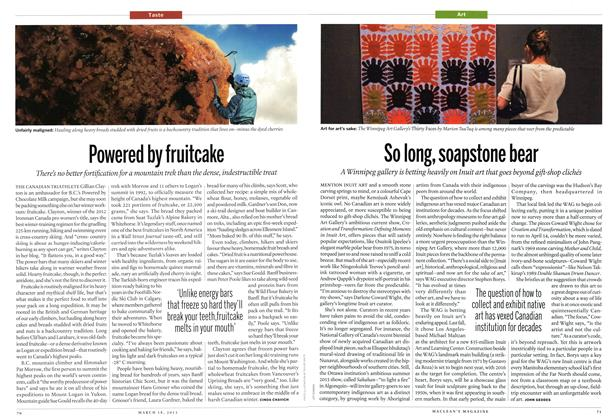 Article Preview: Powered by fruitcake, March 2013 | Maclean's