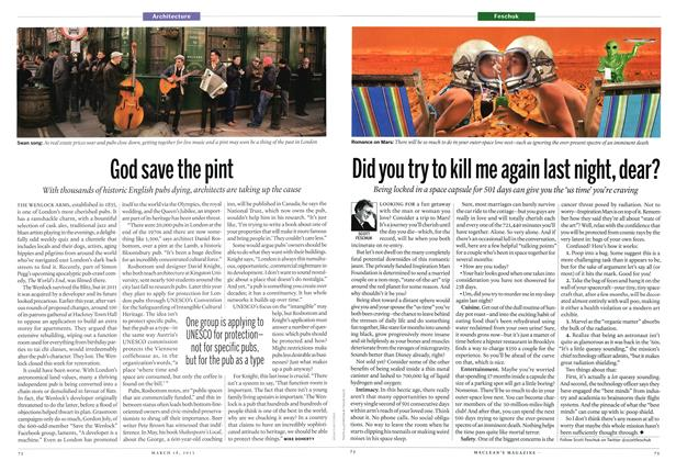 Article Preview: Did you try to kill me again last night, dear?, March 2013 | Maclean's