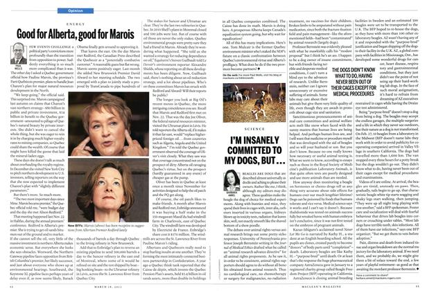 Article Preview: Good for Alberta, good for Marois, March 2013 | Maclean's