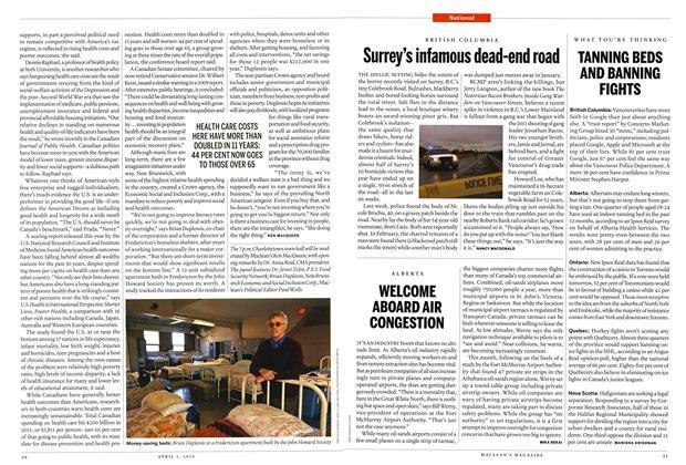 Article Preview: Surrey's infamous dead-end road, April 2013 | Maclean's