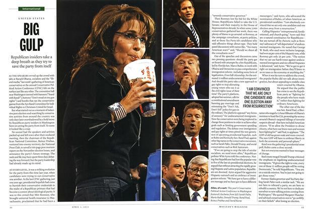 Article Preview: BIG GULP, April 2013 | Maclean's