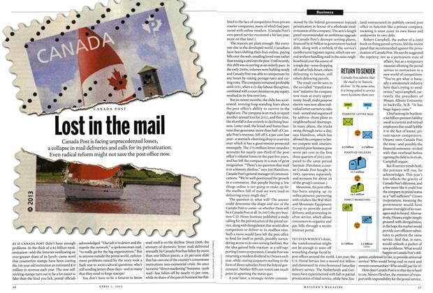 Article Preview: Lost in the mail, April 2013 | Maclean's