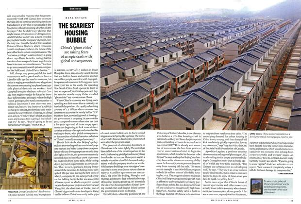 Article Preview: THE SCARIEST HOUSING BUBBLE, April 2013   Maclean's