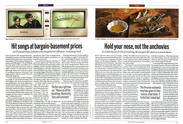 Article Preview: Hit songs at bargain-basement prices, April 2013 | Maclean's