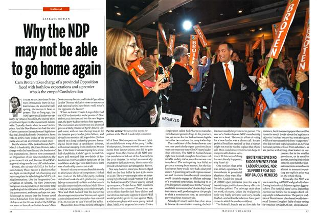 Article Preview: Why the NDP may not be able to go home again, April 2013 | Maclean's