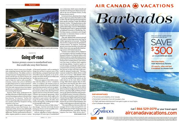 Article Preview: Going off-road, April 2013   Maclean's