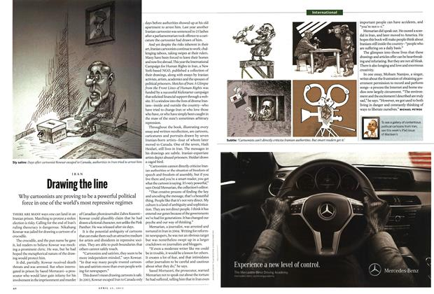 Article Preview: Drawing the line, April 2013 | Maclean's