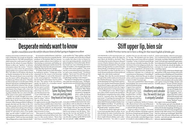Article Preview: Stiff upper lip, bien sûr, April 2013 | Maclean's
