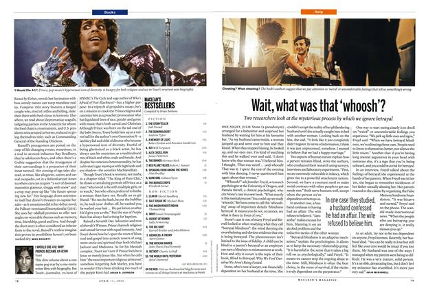 Article Preview: I WOULD DIE 4 U: WHY PRINCE BECAME AN ICON Touré, April 2013   Maclean's
