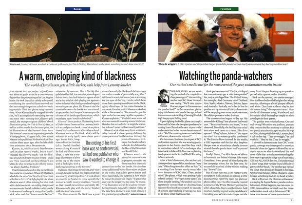Article Preview: A warm, enveloping kind of blackness, April 2013 | Maclean's