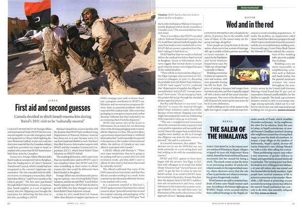Article Preview: First aid and second guesses, April 2013 | Maclean's