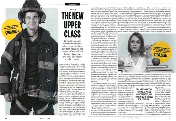 Article Preview: THE NEW UPPER CLASS, April 2013 | Maclean's
