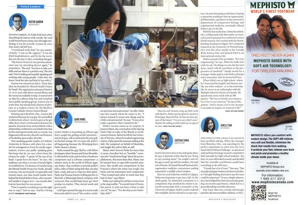 Article Preview: GORD PARKE TECHNOLOGY, April 2013 | Maclean's
