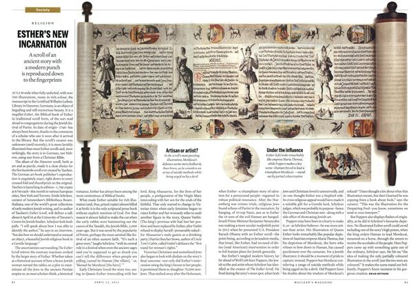 Article Preview: ESTHER'S NEW INCARNATION, April 2013   Maclean's