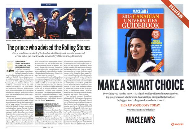 Article Preview: The prince who advised the Rolling Stones, April 2013 | Maclean's