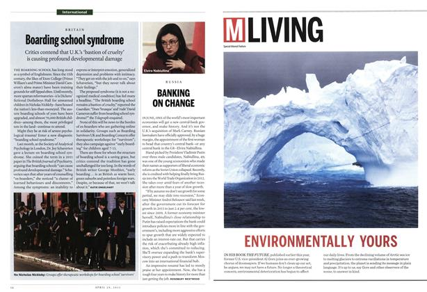 Article Preview: Boarding school syndrome, April 2013 | Maclean's