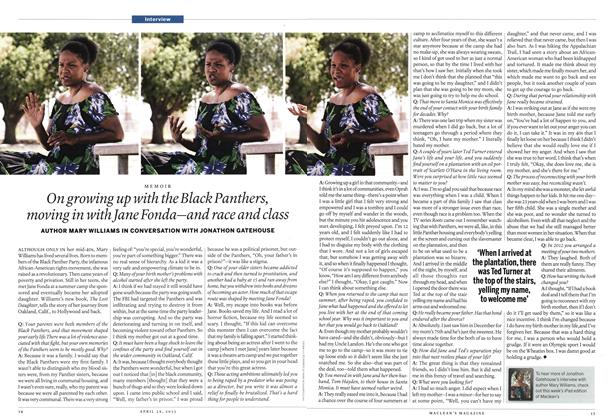 Article Preview: On growing up with the Black Panthers, moving in with Jane Fonda—and race and class, April 2013 | Maclean's