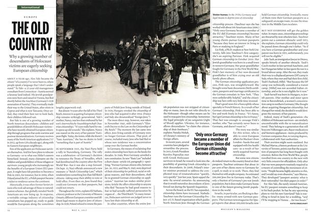 Article Preview: THE OLD COUNTRY, May 2013 | Maclean's