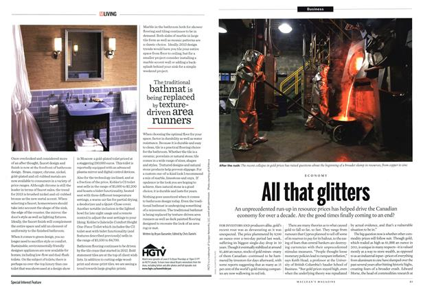 Article Preview: All that glitters, May 2013 | Maclean's