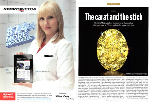 Article Preview: The carat and the stick, May 2013 | Maclean's