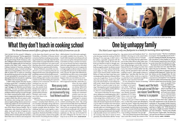 Article Preview: What they don't teach in cooking school, May 2013 | Maclean's
