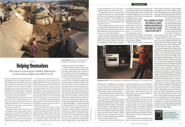 Article Preview: Helping themselves, May 2013 | Maclean's